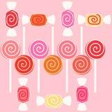 Caramelo del dulce del chicloso Fotos de archivo libres de regalías