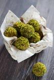 Caramelo del pistacho Fotografía de archivo libre de regalías