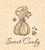 Caramelo dulce. Imágenes de archivo libres de regalías
