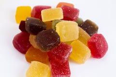 Caramelo dulce, caramelos de chocolate coloridos, jellybeans, fotografía de archivo libre de regalías