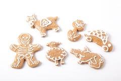 Caramelo dulce de la Navidad Fotos de archivo libres de regalías