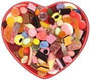 Caramelo dulce del amor Foto de archivo libre de regalías