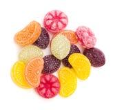 Caramelo duro con sabor a frutas Fotografía de archivo