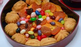 Caramelo en la caja Imágenes de archivo libres de regalías