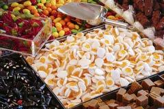 Caramelo en la tienda Foto de archivo