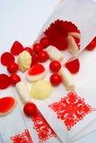 Caramelo en un bolso Foto de archivo libre de regalías