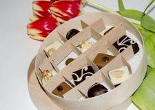 Caramelo en un rectángulo Fotos de archivo libres de regalías