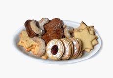 Caramelo hecho en casa tradicional de la Navidad Imagen de archivo