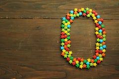 Caramelo número cero Imagen de archivo