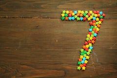 Caramelo número siete Fotografía de archivo