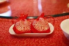 Caramelo para el banquete de boda Fotografía de archivo libre de regalías