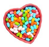 Caramelo para Valentine Day Imagen de archivo libre de regalías