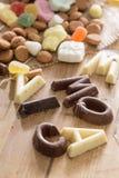 Caramelo tradicional de Sinterklaas Imagen de archivo libre de regalías