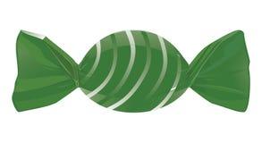 Caramelo verde Imagenes de archivo