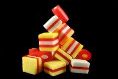 Caramelos 3 de la fruta Fotos de archivo libres de regalías
