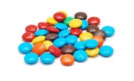 Caramelos coloreados Imagen de archivo libre de regalías