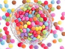 Caramelos coloreados Fotografía de archivo libre de regalías