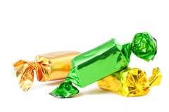 Caramelos coloreados brillantes Foto de archivo libre de regalías