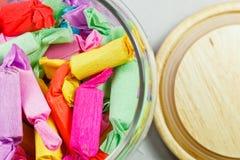 Caramelos coloridos Imagen de archivo