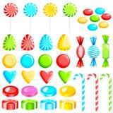 Caramelos coloridos Foto de archivo libre de regalías