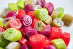 Caramelos coloridos Foto de archivo