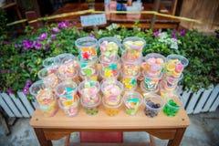 Caramelos coloridos de la jalea fotografía de archivo
