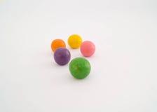 Caramelos coloridos dulces Imagen de archivo libre de regalías