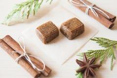 Caramelos crudos Imagen de archivo