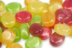 Caramelos de azúcar de los dulces Fotografía de archivo libre de regalías