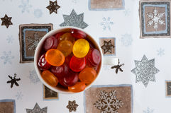Caramelos de azúcar. Imagenes de archivo