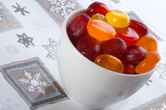 Caramelos de azúcar. Imágenes de archivo libres de regalías