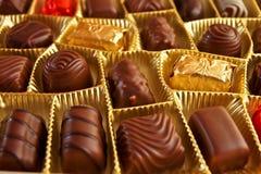 Caramelos de chocolate Fotos de archivo libres de regalías