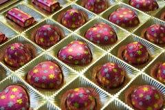 Caramelos de chocolate Foto de archivo