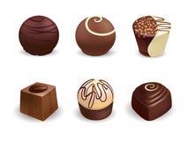 Caramelos de chocolate libre illustration