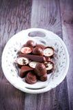 Caramelos de chocolate de muchas clases Foto de archivo libre de regalías