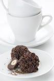Caramelos de chocolate hechos en casa Fotos de archivo