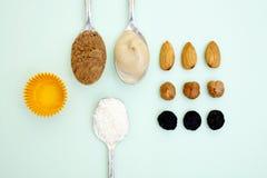 Caramelos de Ingrediens Imagenes de archivo