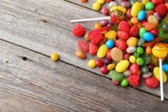 Caramelos de la fruta Foto de archivo