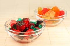 Caramelos de la jalea Fotos de archivo libres de regalías