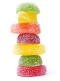 Caramelos de la jalea Fotografía de archivo