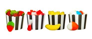 Caramelos de la jalea Foto de archivo libre de regalías