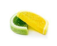 Caramelos de la jalea de fruta del color Imagen de archivo