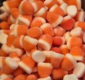 Caramelos de la jalea y jalea coloridos Fotos de archivo libres de regalías