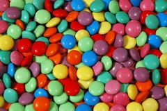 Caramelos de la lenteja Imagen de archivo