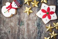 Caramelos de la Navidad Imagen de archivo