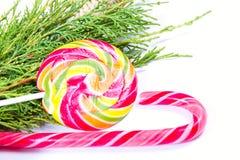 Caramelos de la Navidad fotos de archivo libres de regalías