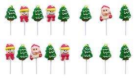 Caramelos de la Navidad Foto de archivo