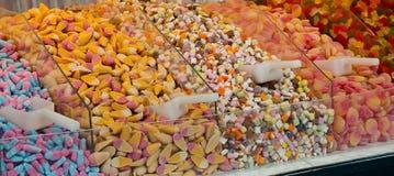 Caramelos de la selección y de la mezcla Fotos de archivo
