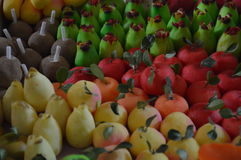 Caramelos de México, artesanales de México de la fruta de Artesanal de Dulces Fotos de archivo