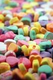 Caramelos del amor fotografía de archivo